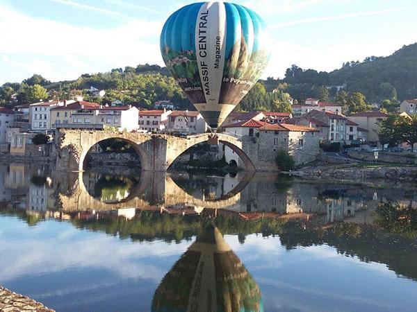Montgolfiere En Velay